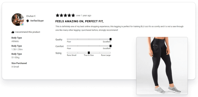 Remove customer anxiety with reviews